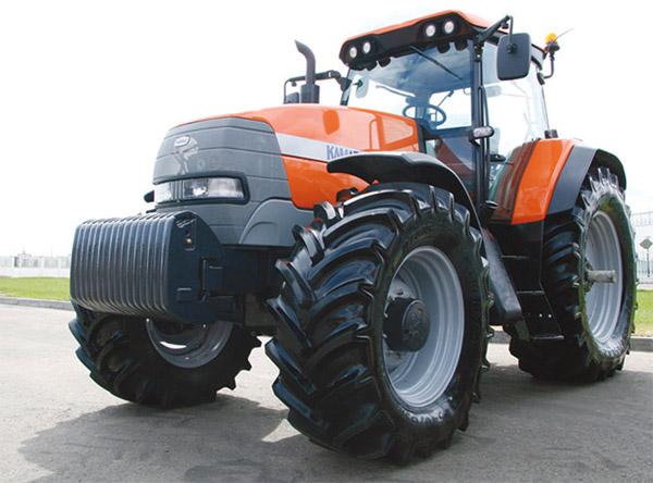 ...сборочного производства сельскохозяйственных колёсных тракторов KAMAZ Т-215.